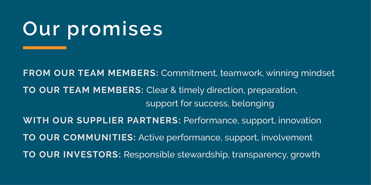 Our Promises